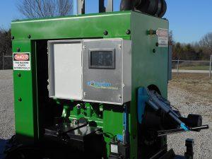 Aquarius pump control unit on a John Deere diesel pump
